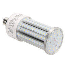 Load image into Gallery viewer, NuGen LED 27 Watt Solid State Corn Bulb 2484 Lumens 5YR Warranty 5000k DLC E26
