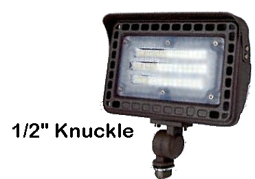 TCP 50w LED Flood Light 6250 lumens Choose 4000k 5000k 1/2 in Knuckle or Yoke Mount FLKUA3W40KBR FLKUA3W50KBR FLYUA3W40KBR FLYUA3W50KBR