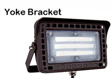 Load image into Gallery viewer, TCP 50w LED Flood Light 6250 lumens Choose 4000k 5000k 1/2 in Knuckle or Yoke Mount FLKUA3W40KBR FLKUA3W50KBR FLYUA3W40KBR FLYUA3W50KBR
