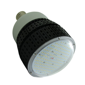 100 watt DLC LED 5K High Bay Retrofit Bulb 120-277v Ballast Bypass 12,500 Lumens 5yr Warranty E39