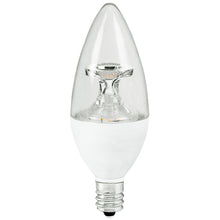 Load image into Gallery viewer, TCP LED5E12B1150K LED Chandelier Bulb 5 Watt Replaces 40w E12 Small Candelabra 5000k