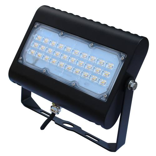 Multi-Purpose LED Area Flood Light 50W 6,179LM Knuckle or Yoke Mount Option UL DLC 5K 120-277V