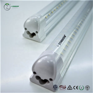 20pcs - ZOHNSON 8FT PREMIUM DLC 60 Watt T8 Double Row Integrated Tube 8400LM (Easy-Link) 5000K 100-277VAC - FREE US SHIPPING