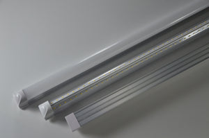 20pcs - 8FT PREMIUM DLC 60 Watt T8 Double Row Integrated Tube (Easy-Link) 5000K 100-277VAC - FREE US SHIPPING