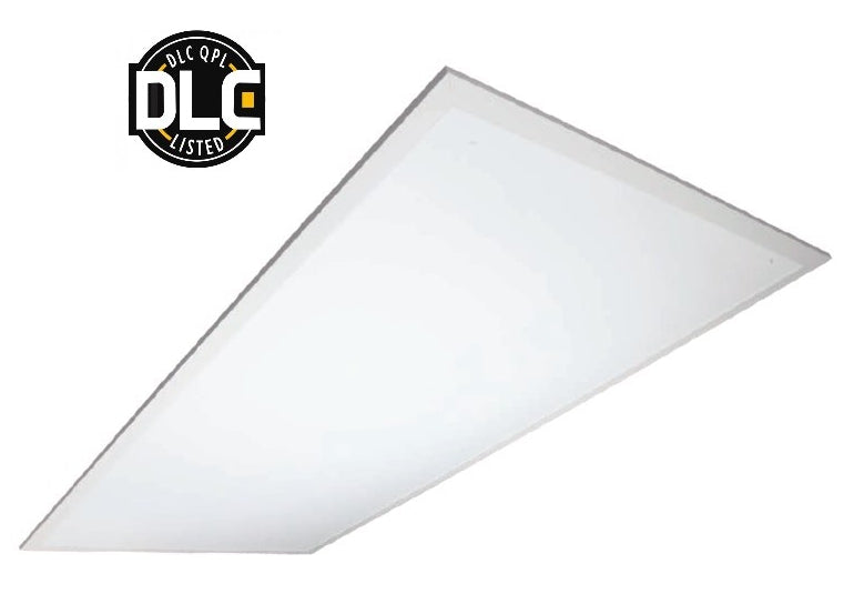 $63.50 TCP 2x4 Back Lit 46 WATT LED Flat Panel Dimmable DLC 5000K - 5,200 Lumens 120-277V DTF4UZD4650K