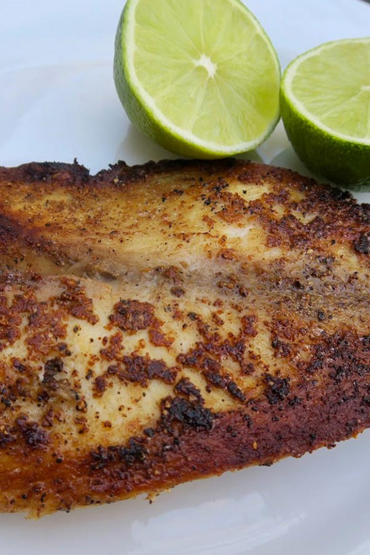 seasoned tilapia filet