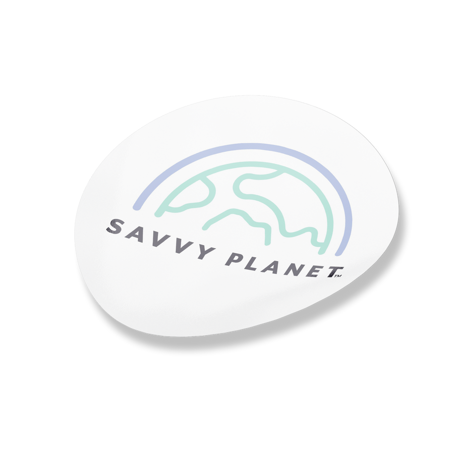 Savvy Planet Sticker