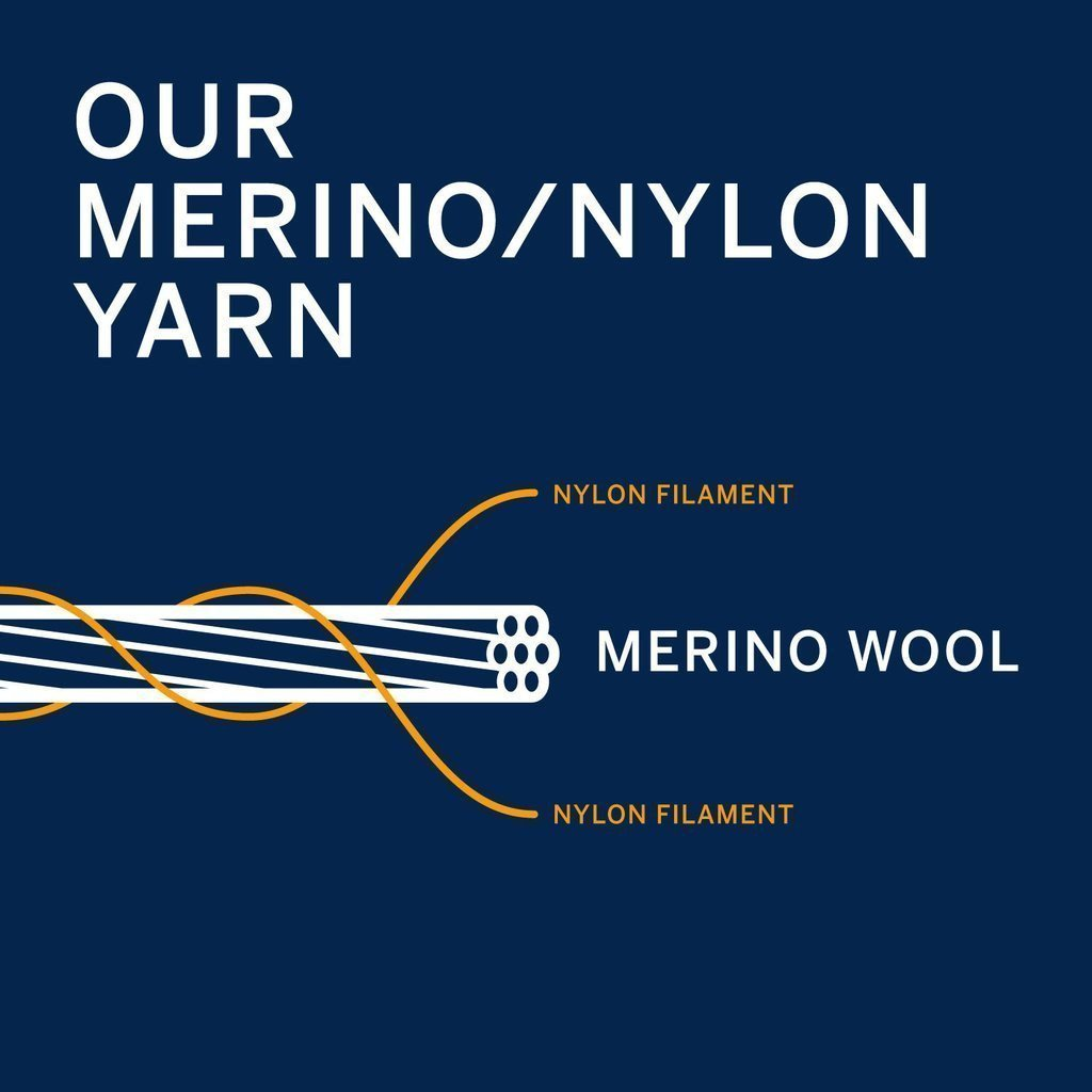 Merino Nylon Yarn Illustration