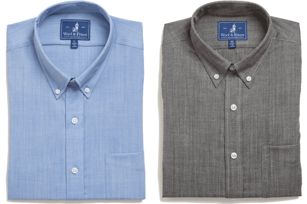 7bc7c965 Wool&Prince | Merino Wool Button-Down Shirts, T-Shirts, and Button ...