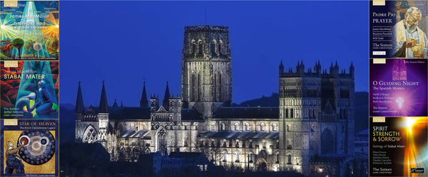 Durham Cathedral with Genesis Foundation commissioned CDs
