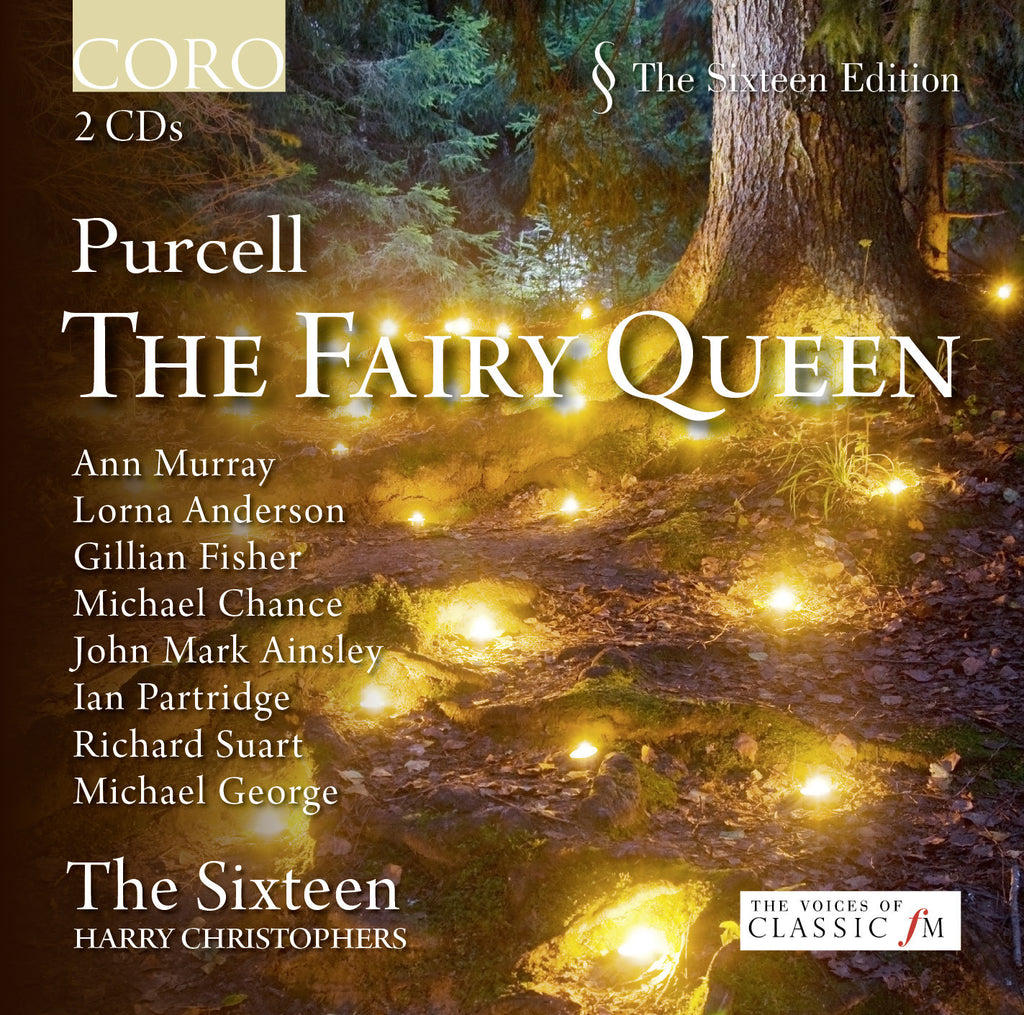 Purcell: The Fairy Queen. Album by The Sixteen