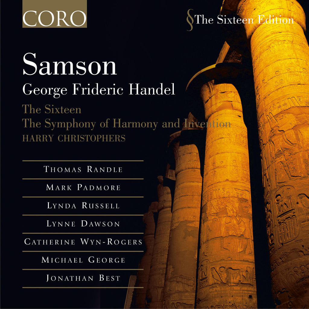 Handel: Samson. Album by The Sixteen