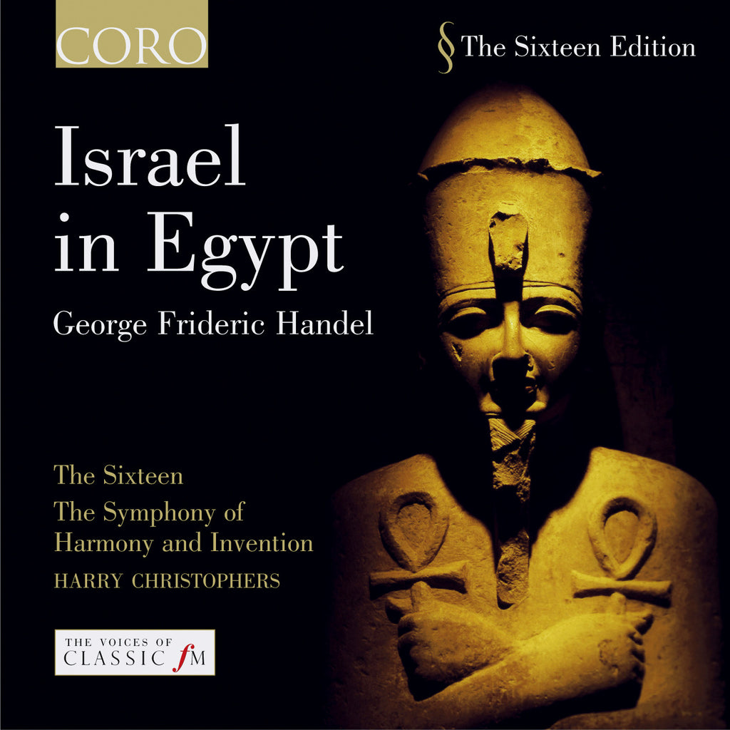 Handel: Israel in Egypt. Album by The Sixteen