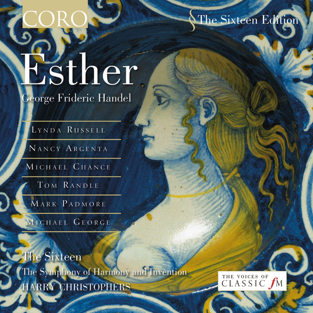 Handel: Esther. Album by The Sixteen