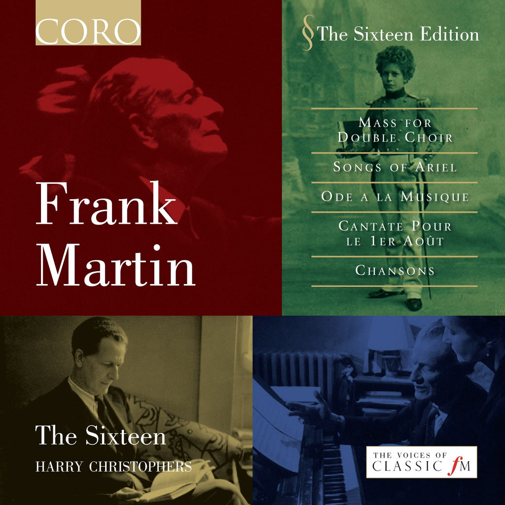 Frank Martin. Album by The Sixteen