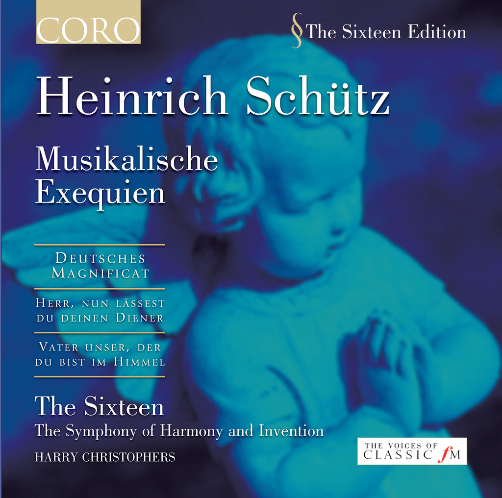Heinrich Schütz: Musikalische Exequien. Album by The Sixteen