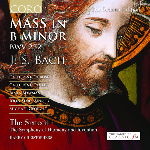 J.S. Bach: Mass in B minor. Album by The Sixteen