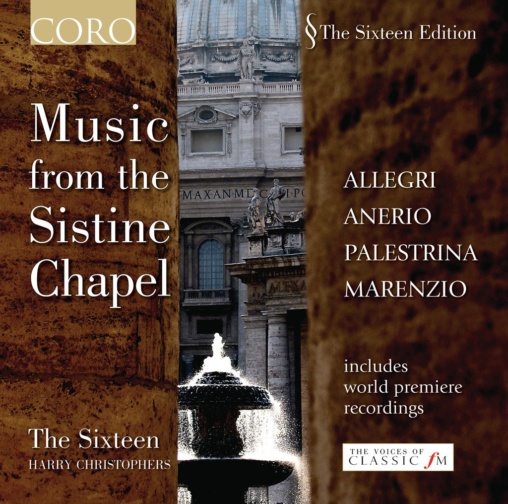 Music from the Sistine Chapel. Album by The Sixteen