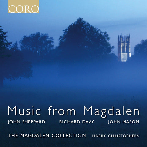 Music From Magdalen. Album by The Magdalen Collection and Harry Christophers