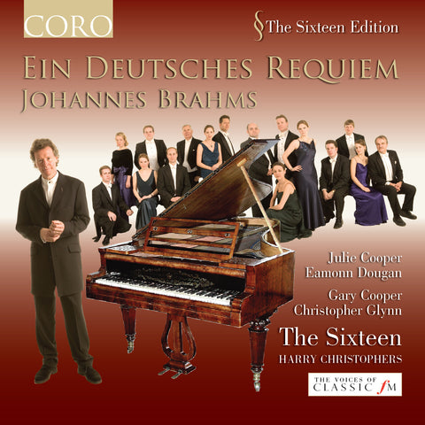 Brahms: Ein Deutsches Requiem. Album by The Sixteen