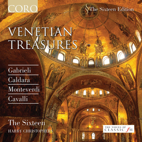 Venetian Treasures. Album by The Sixteen