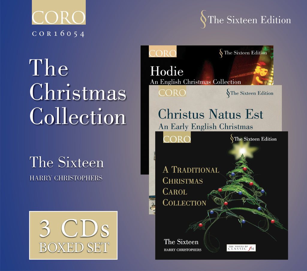 The Christmas Collection. Albums by The Sixteen