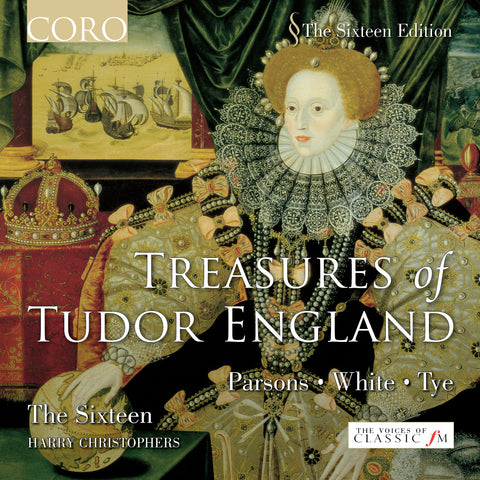 Treasures of Tudor England. Album by The Sixteen