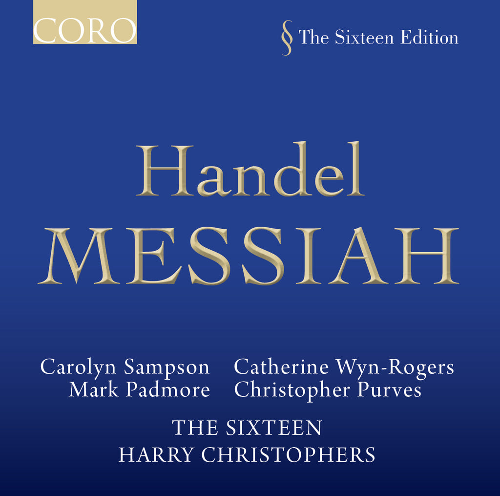 Handel: Messiah. Album by The Sixteen
