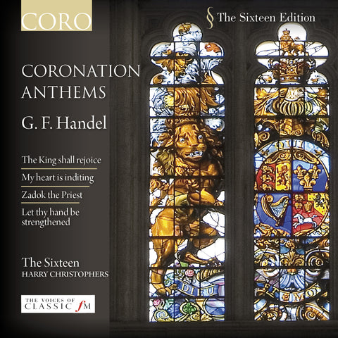 Handel: Coronation Anthems. Album by The Sixteen