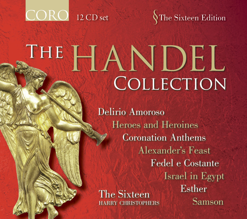 The Handel Collection. Albums by The Sixteen