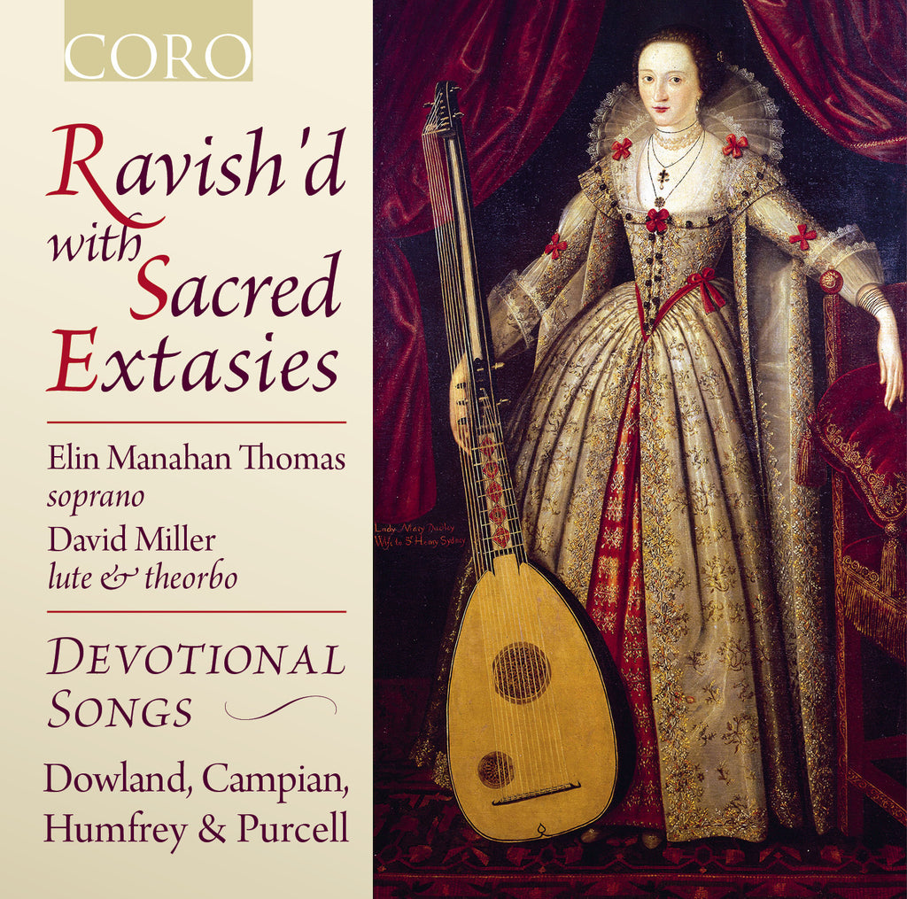 Ravish'd with Sacred Extasies. Album by Elin Manahan Thomas, David Miller