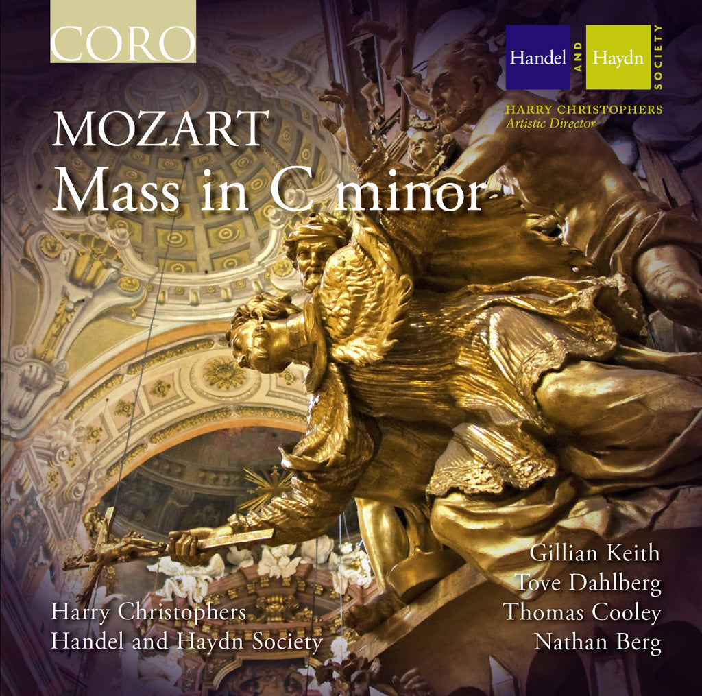 Mozart: Mass in C minor. Album by the Handel and Haydn Society