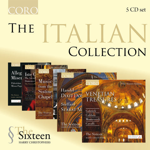 The Italian Collection. Albums by The Sixteen
