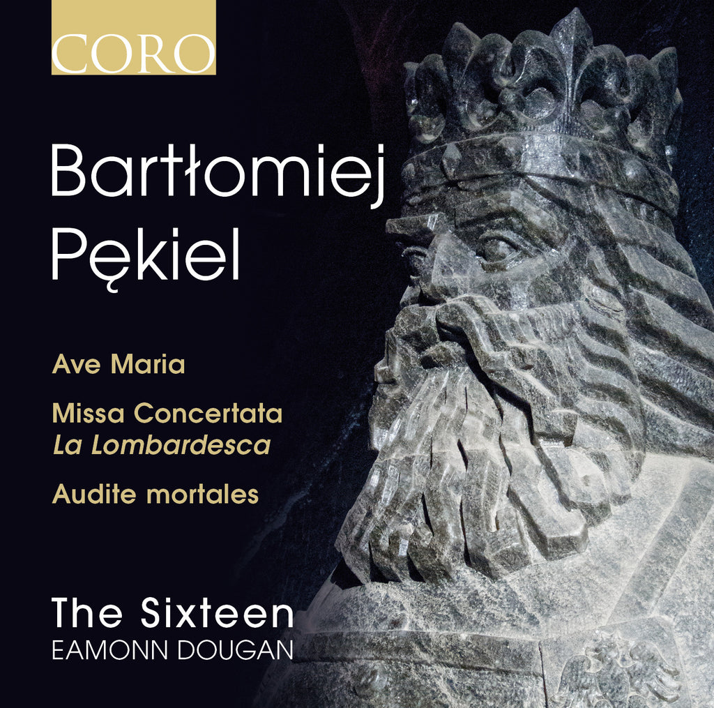 Bartłomiej Pękiel. Album by The Sixteen