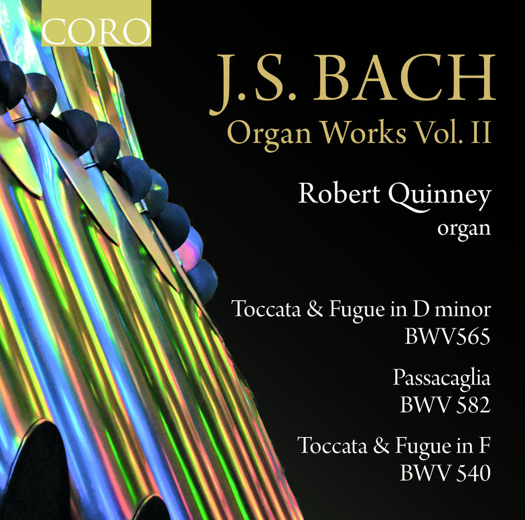 J.S. Bach - Organ Works Vol. II. Album by Robert Quinney