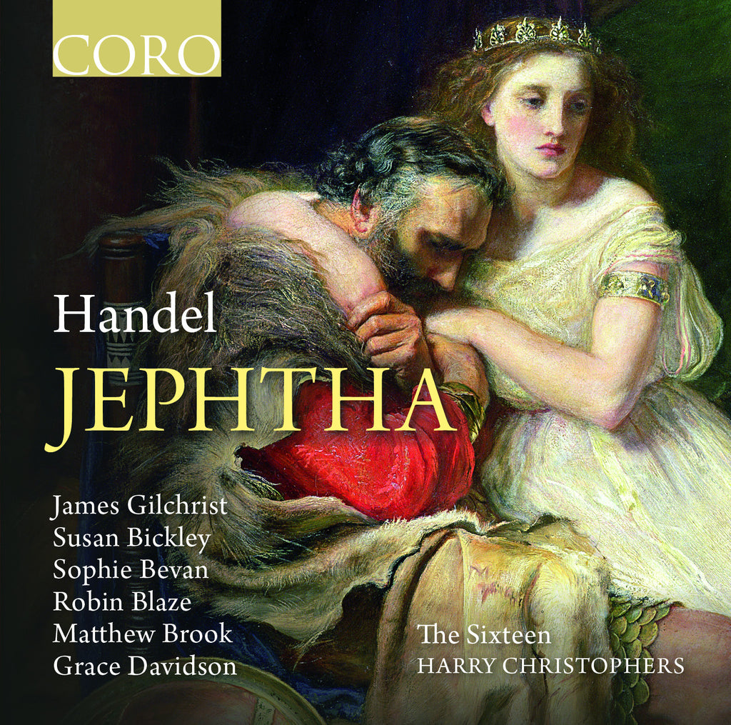 Handel: Jephtha. Album by The Sixteen