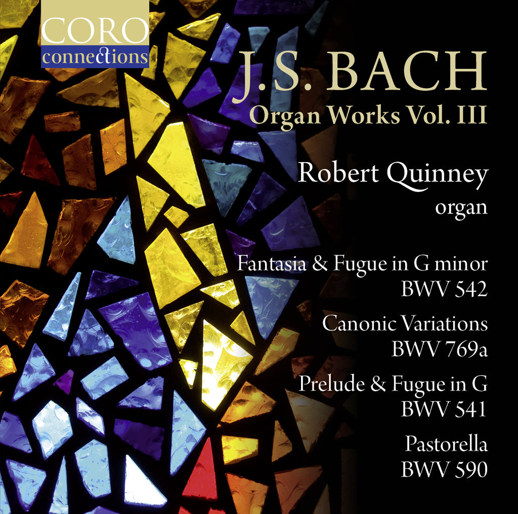 J.S. Bach: Organ Works Vol. III. Album by Robert Quinney