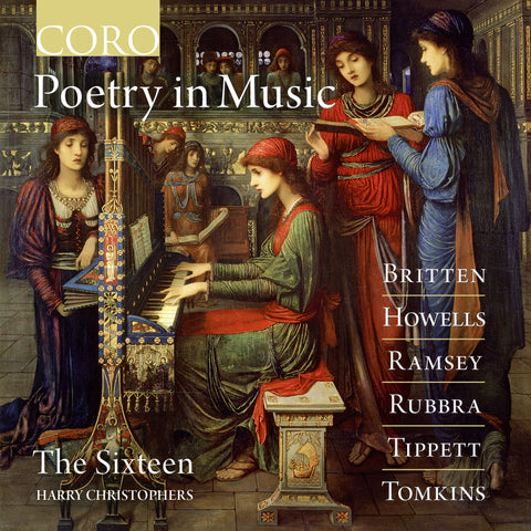 Poetry in Music. Album by The Sixteen