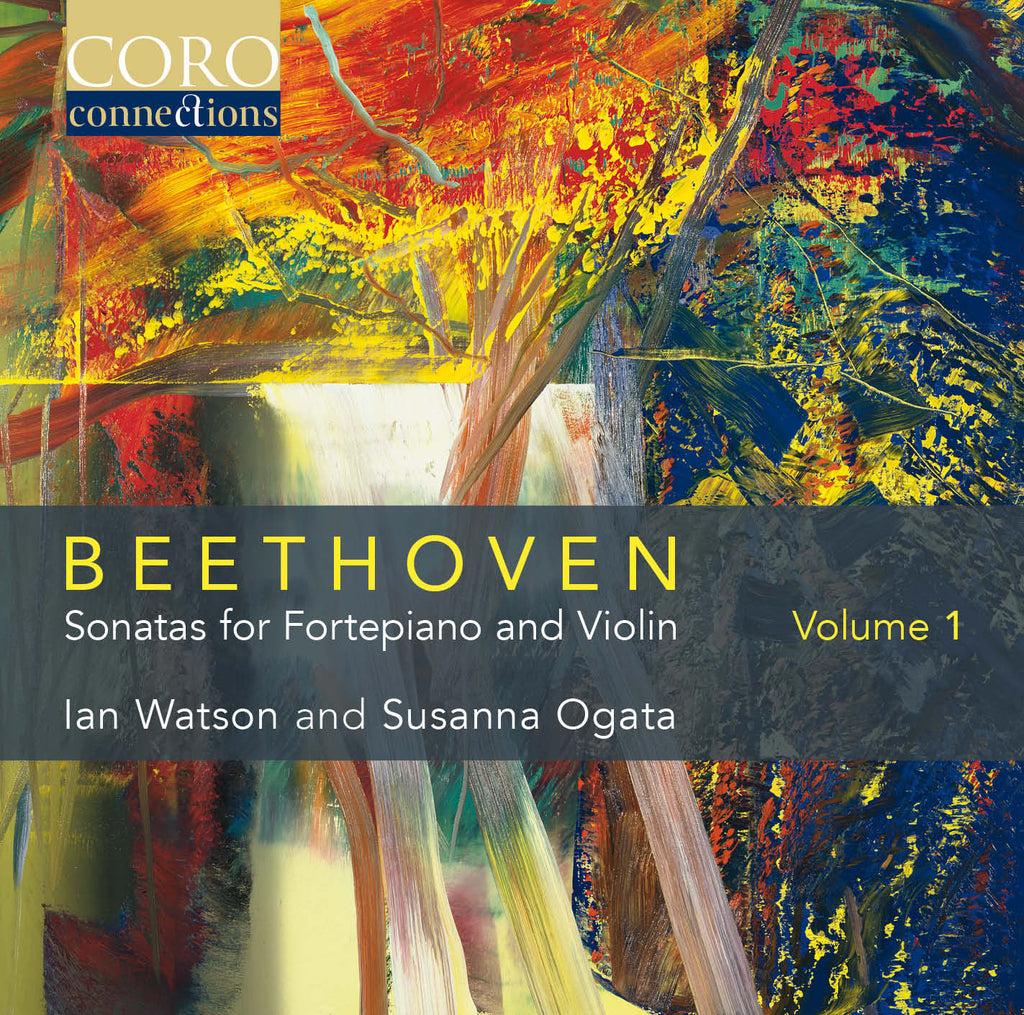 Beethoven: Sonatas for Fortepiano and Violin Volume 1. Album by Ian Watson and Susanna Ogata