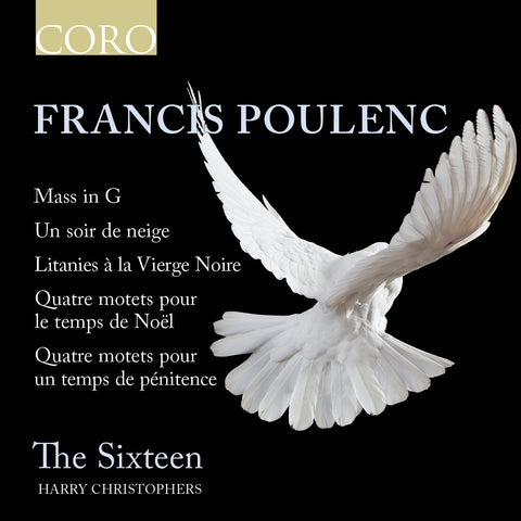 Francis Poulenc. Album by The Sixteen