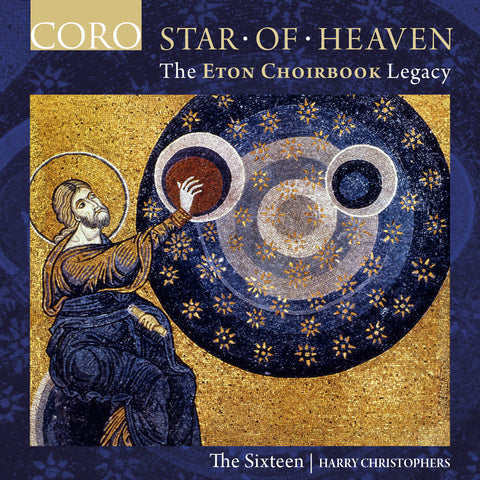 Star of Heaven album cover showing a late 12th century mosaic of God creating heaven and the stars
