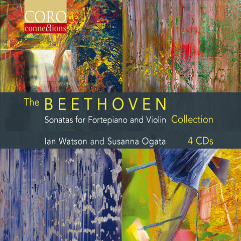 The Beethoven Sonatas for Fortepiano and Violin Collection.  Albums by Ian Watson and Susanna Ogata