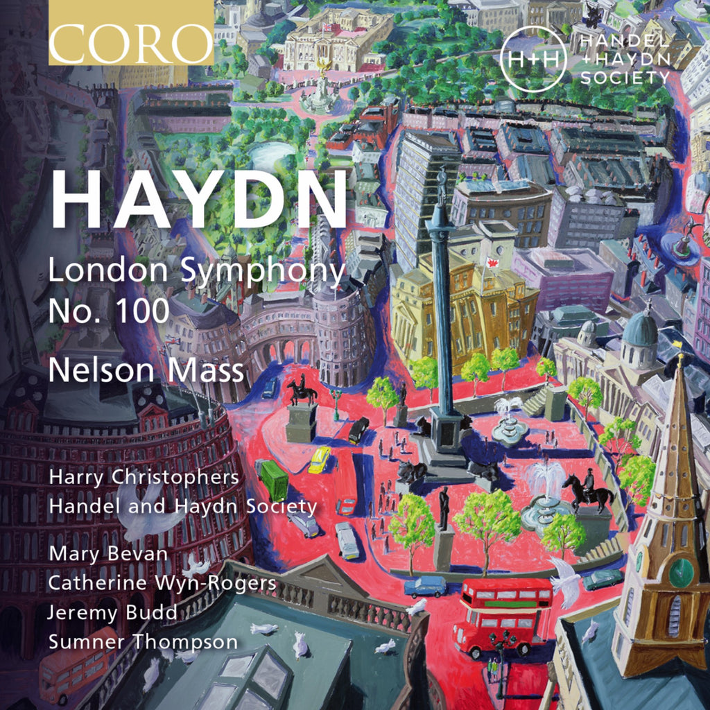 Haydn: London Symphony No. 100 and Nelson Mass. Album by Handel and Haydn Society