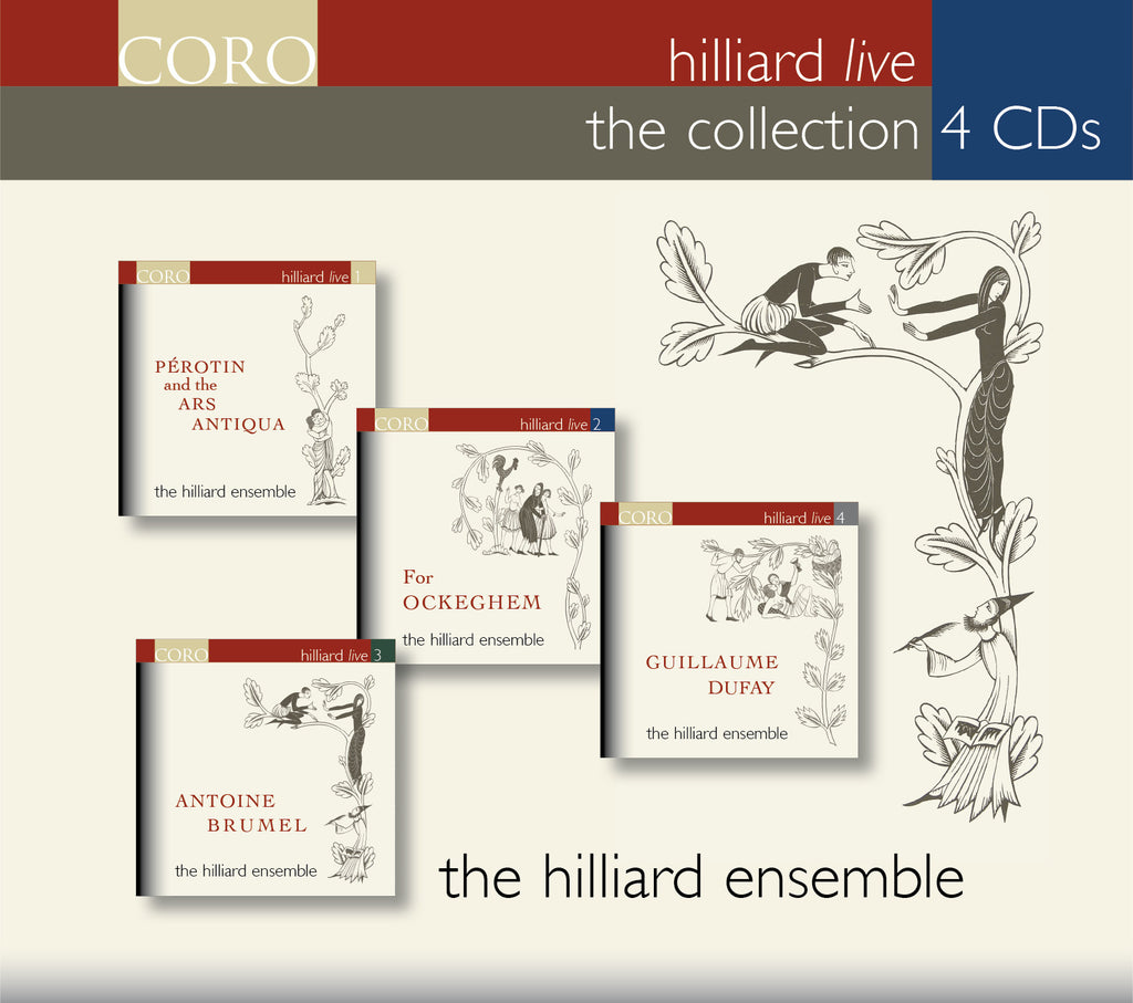 Hilliard Live: The Collection. Albums by The Hilliard Ensemble
