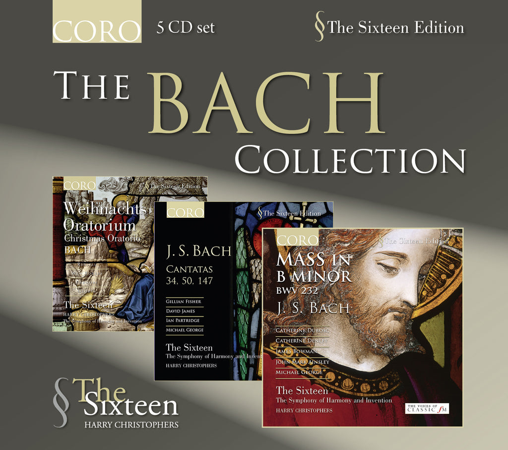 The Bach Collection. Albums by The Sixteen