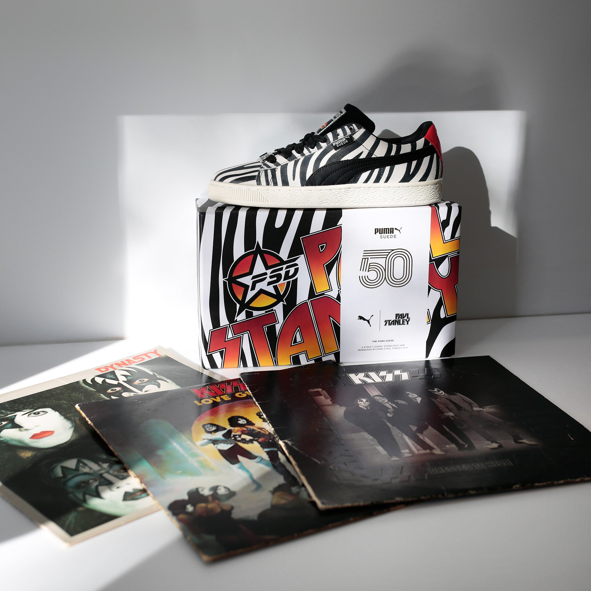 various colors 9418c 48923 Puma 50th Anniversary Suede x Paul Stanley Launch | Extra ...