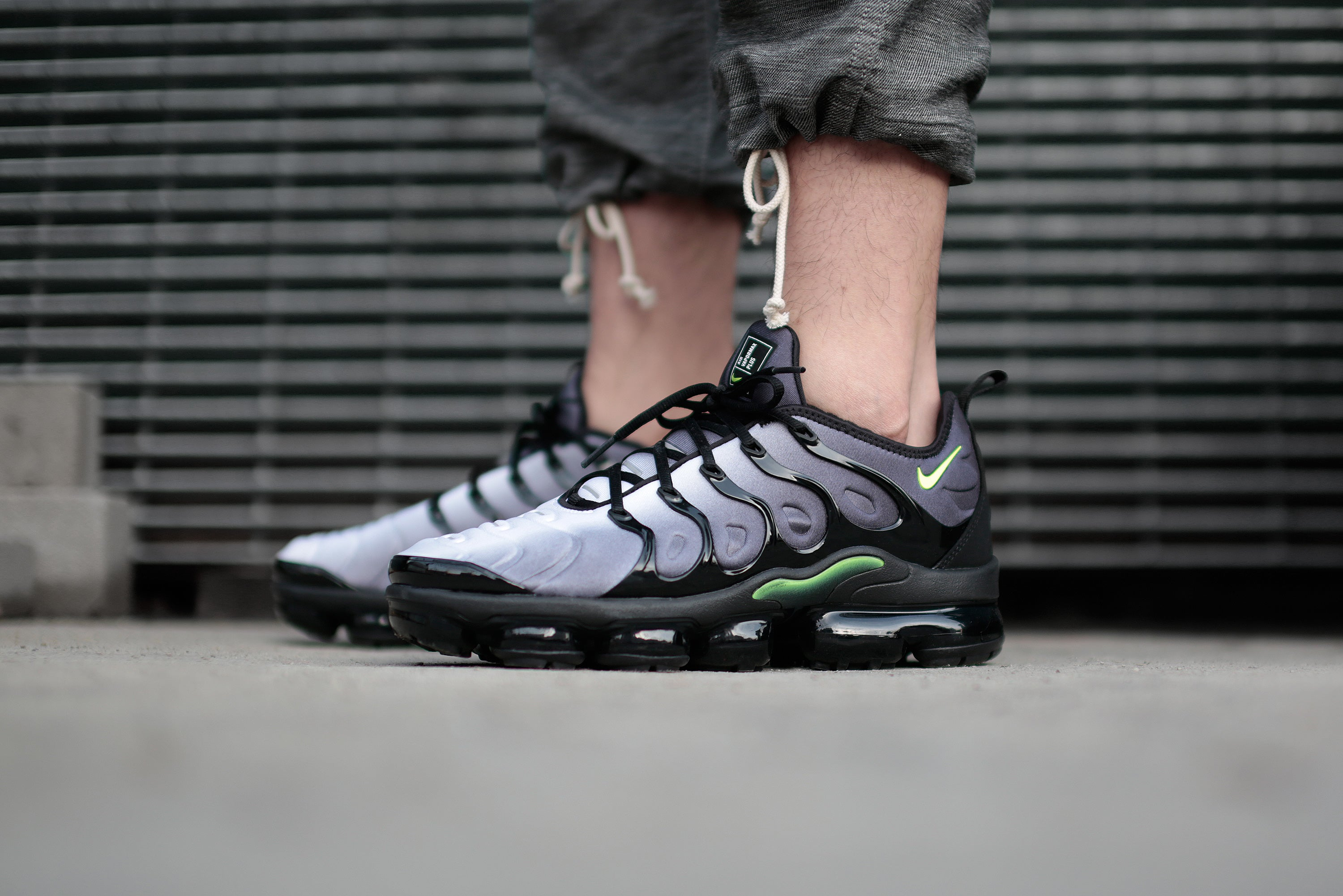 3e72b0a3f5fb Nike Vapormax Plus - Black Volt - Releasing 4 6