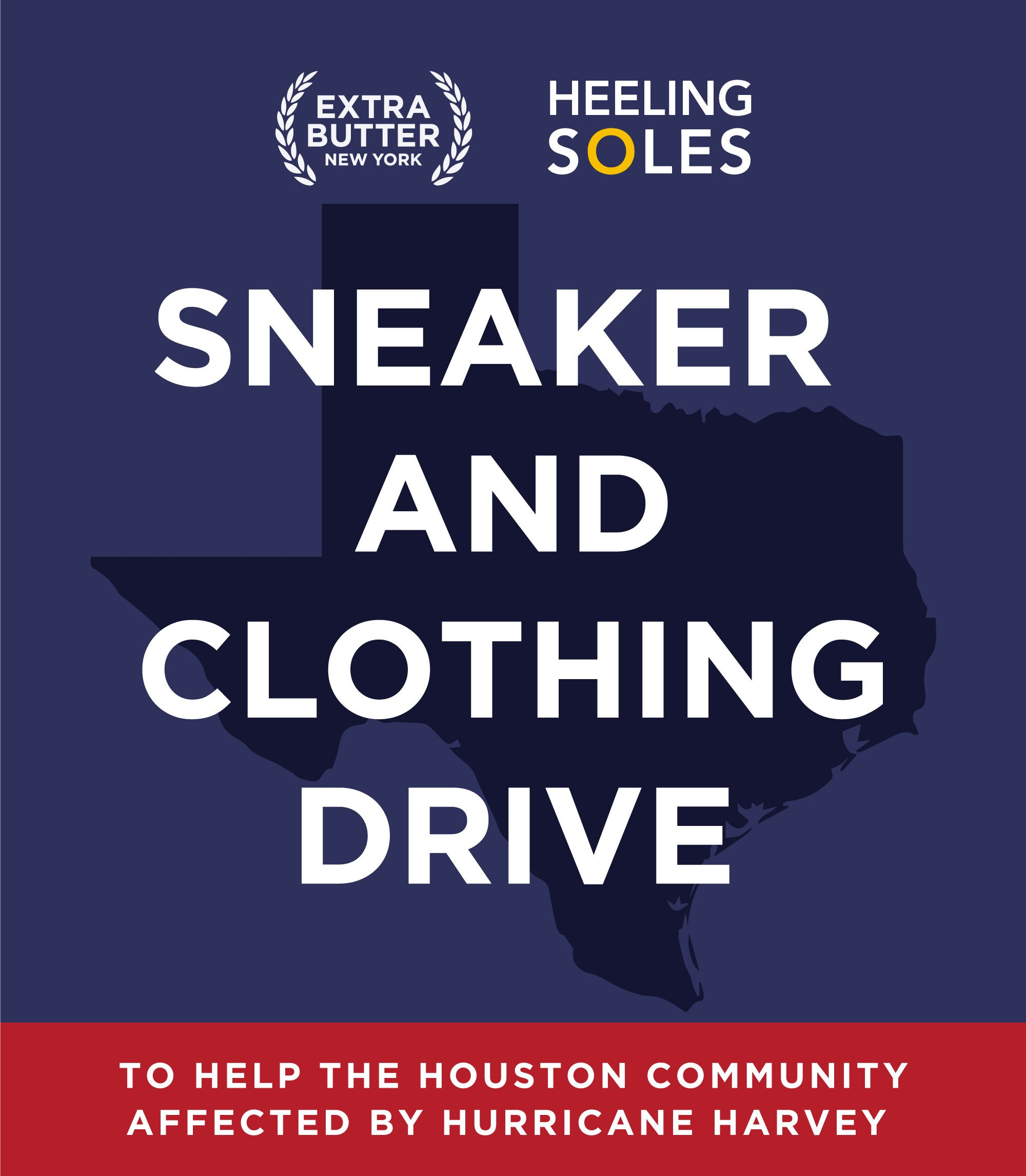Extra Butter X Heeling Soles Footwear And Clothing Donation To Hurri
