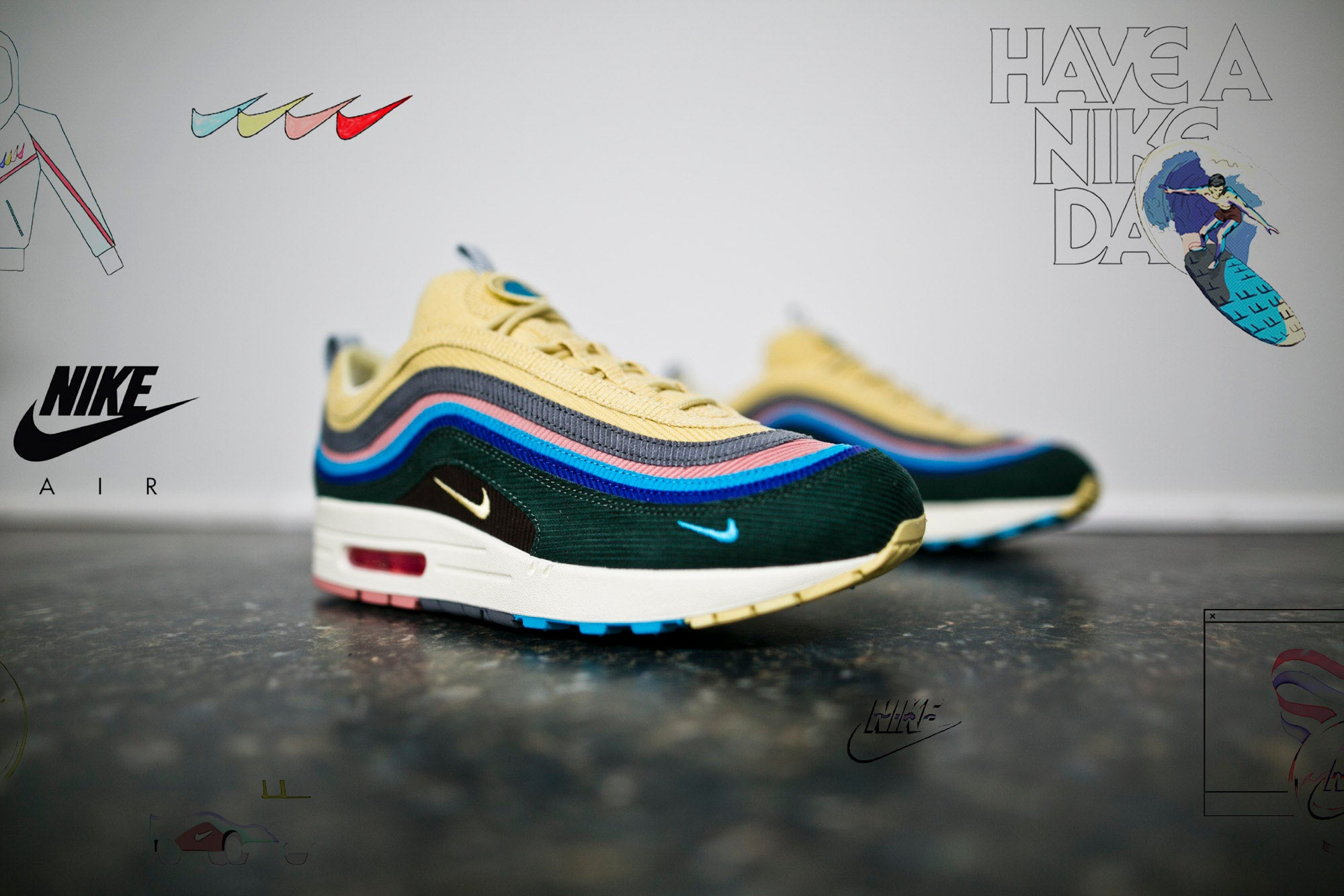 3d903f4164f9f Nike Air Max 1 97 - Sean Wotherspoon