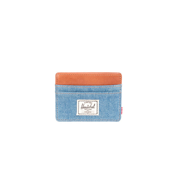 Herschel Supply Co Charlie Wallet - Denim/Leather